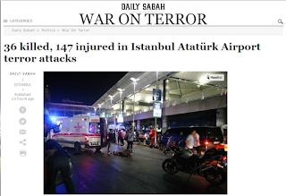 Serangan Teror di Bandara Ataturk