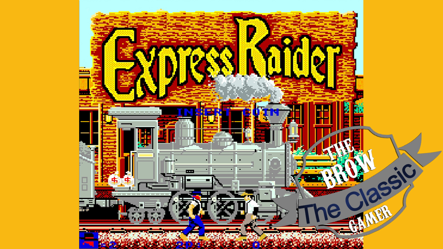 The BROW Play Classic EXPRESS RAIDER ~ The BROW - The Classic Gamer