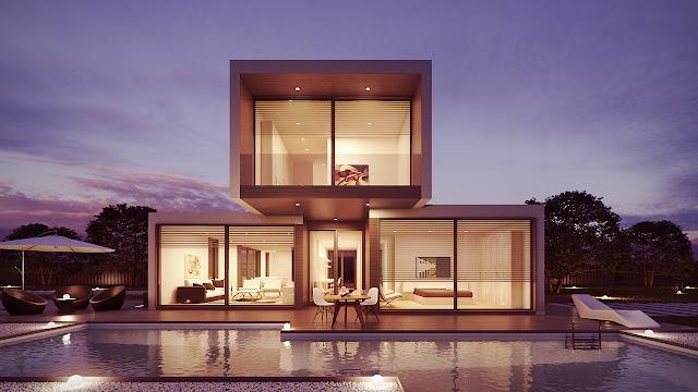 piscina impresionante en casa impresionante. Reformas integrales valencia