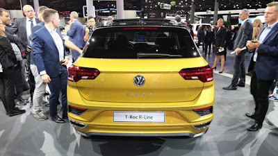 Volkswagen 2018 T-Roc R-line Review, Specs, Price