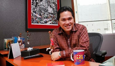 Biografi Erick Thohir , Pengusaha , Pemilik Klub Inter MIlan