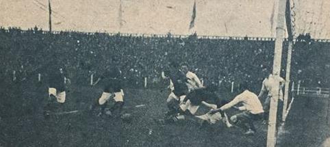 Chile y Uruguay en Campeonato Sudamericano de 1920