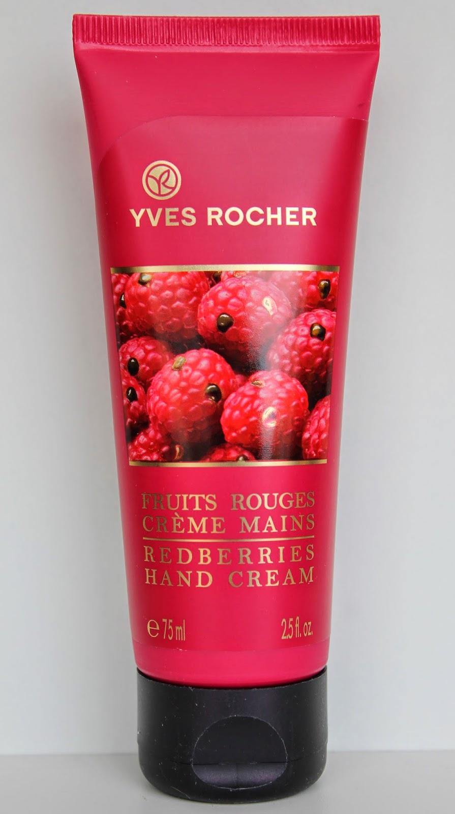 crème pour les mains yves rocher