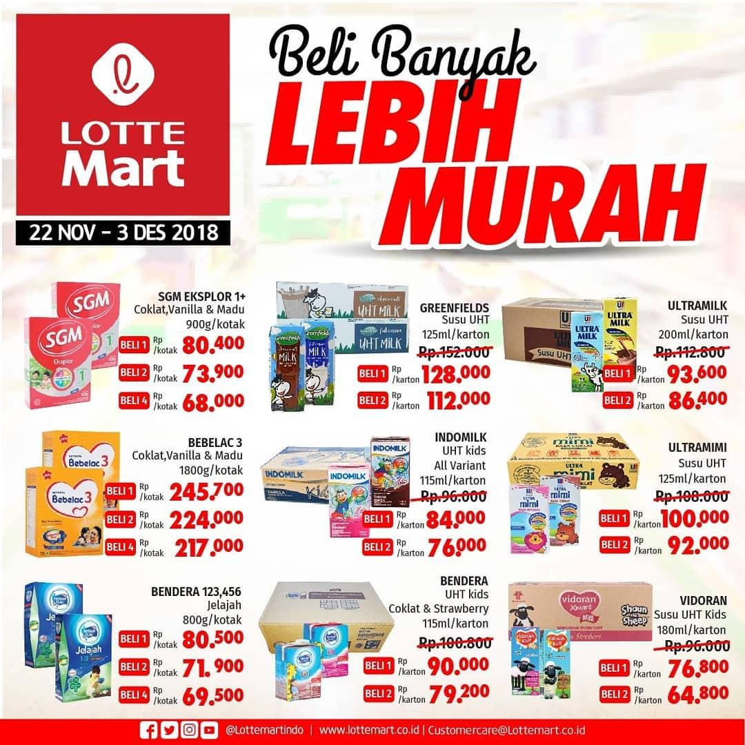 LotteMart - Promo Katalog Beli Banyak Lebih Murah Periode 22 - 03 Des 2018