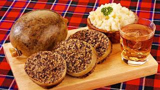 A skót nemzeti étel, a haggis