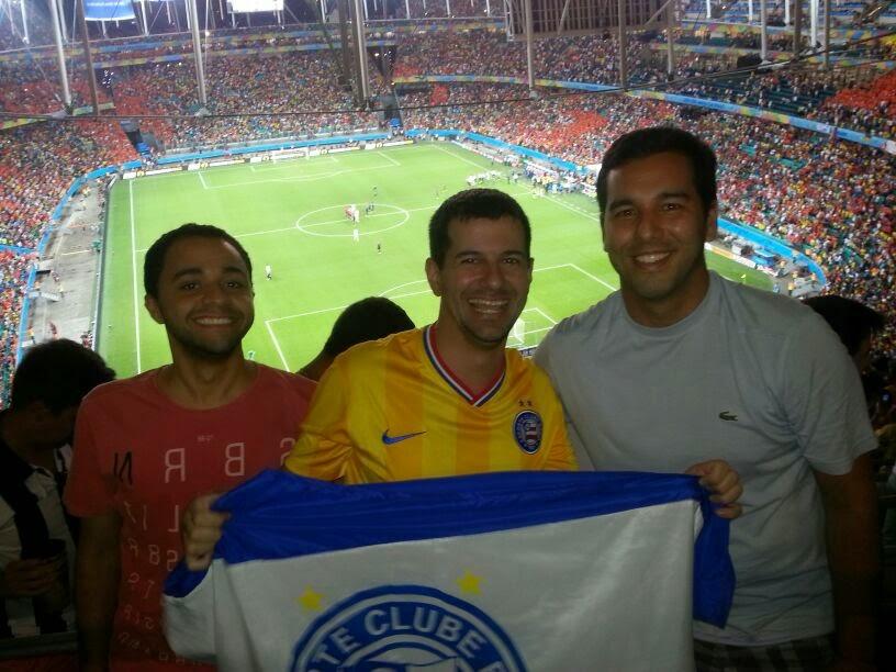 Depois do jogo Holanda 5 X 1 Espanha - Fonte Nova - Salvador - Copa do Mundo Brasil 2014
