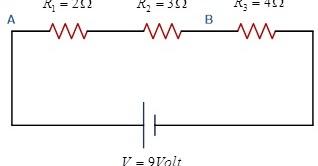Catatan Teori Fisika Dasar: Contoh Soal Rangkaian Hambatan