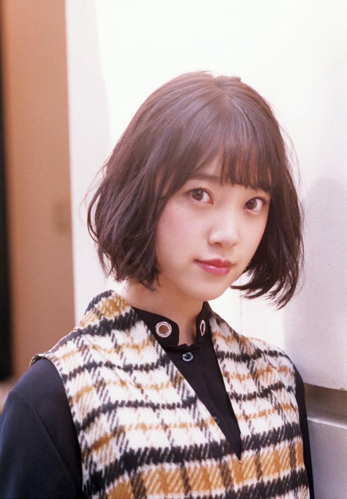 Hori Miona 堀未央奈, BRODY 2017.09 (ブロディ 2017年9月号)