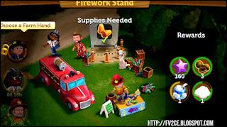 FV2CE, firefighter, fireworks, farm