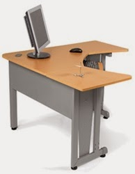 OFM L Shaped Workstation 55196