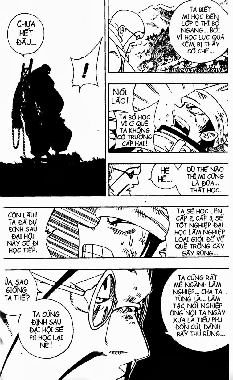Shaman King [Vua pháp thuật] chap 152 trang 13