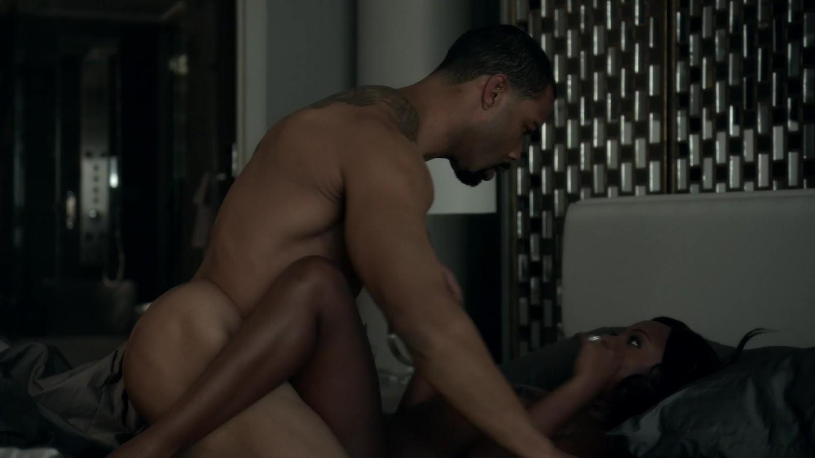 Auscaps Omari Hardwick Nude In Power 1-01 -2209