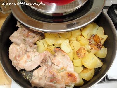 Pollo e patate arrosto con Magic Cooker