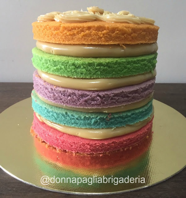 Bolos lindos e deliciosos da Donna Paglia Brigaderia