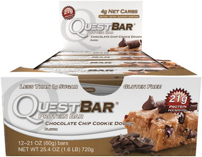 waht Quest protein bars Chocolate Chip cookie dough?