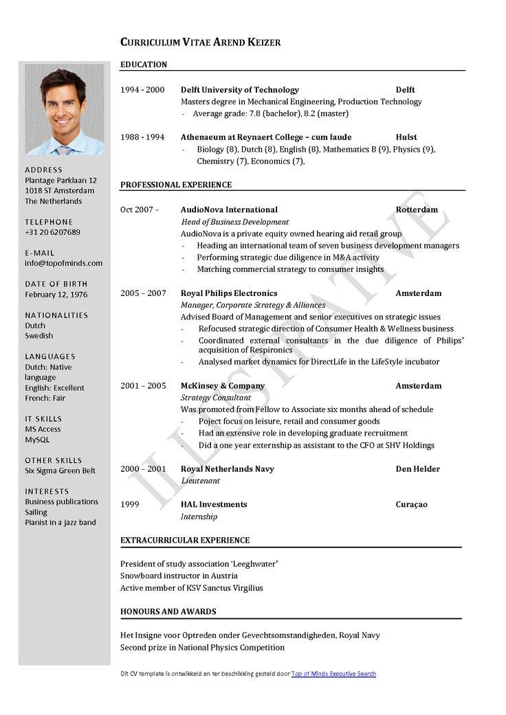 Samples of Professional Resume Sample Resumes