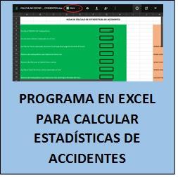 Calcular estadísticas de accidentes on line 1