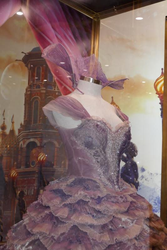 Sugar Plum Fairy gown detail Nutcracker Four Realms