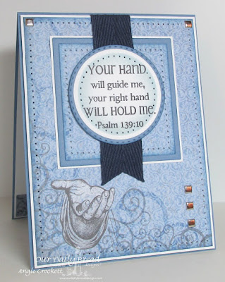 ODBD God's Hands, ODBD Christian Faith Paper Collection, ODBD Custom Double Stitched Circles Dies, ODBD Custom Circles Dies, Card Designer Angie Crockett