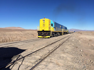 Vuelven a operar trenes de carga entre Salta y Chile