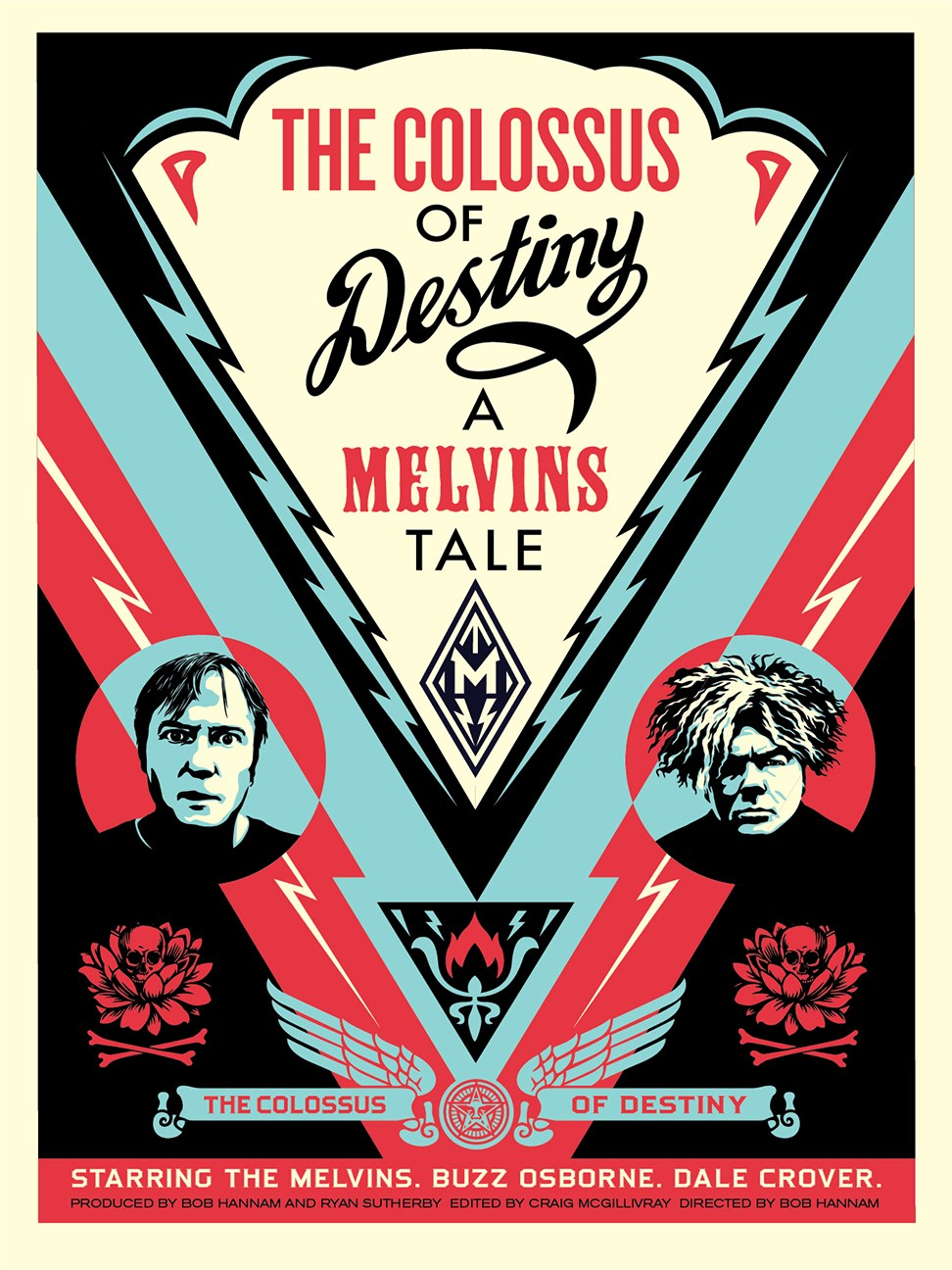 INSIDE THE ROCK POSTER FRAME BLOG: Shepard Fairey The Colossus of ...