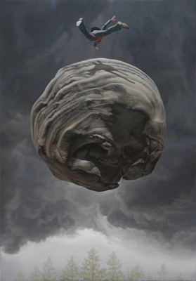 Green Pear Diaries, arte, pintura, Joel Rea, Rise to Redemption