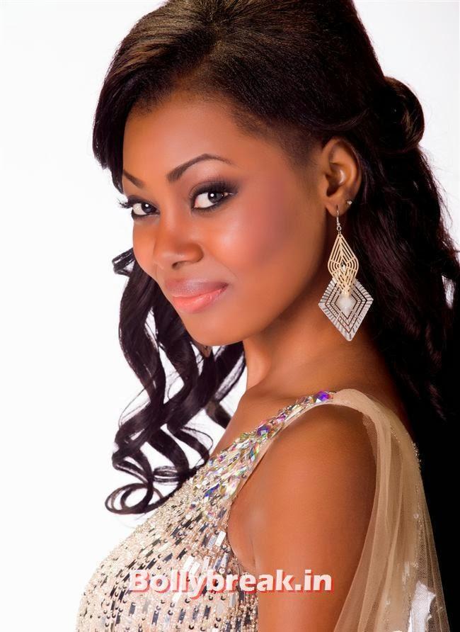 Miss Gabon, Miss Universe 2013 Contestant Pics