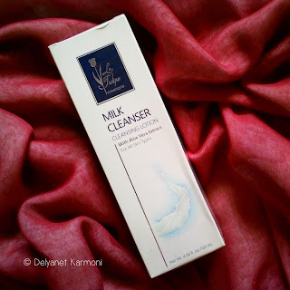 review, la tulipe cosmetics, milk cleanser, aloe vera