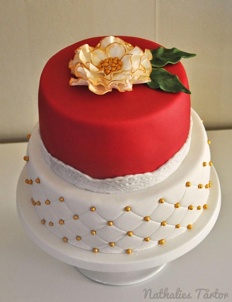 tårta 50 år Nathalies Tårtor: Mammas 50 års tårta tårta 50 år