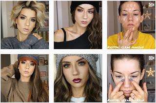 Tendencias de maquillaje para chicas en Instagram tutoriales