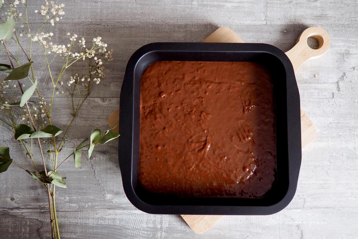 Recette healthy de gâteau au chocolat sans beurre, ni œufs !