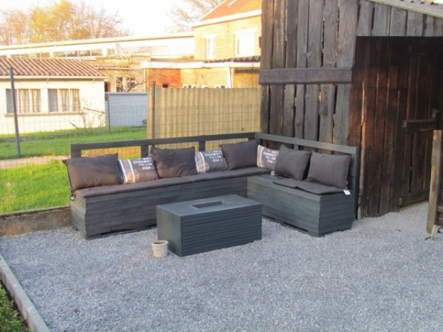 20 Cozy DIY Pallet Couch Ideas ~ Idees And Solutions - photo#40