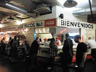 Dónde comer y gastronomía en Nueva York: Tacos en Los Tacos No.1
