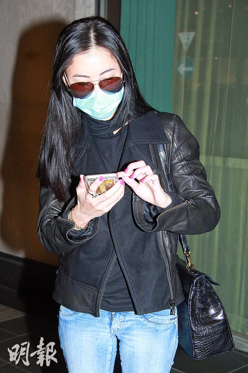 Asian E News Portal Cecilia Cheung Tells The Reporters To