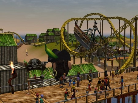 RollerCoaster Tycoon 3 PC Game