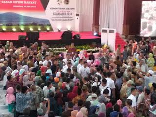 Menteri Agraria dan Tata Ruang/Kepala BPN Sofyan Djalil, Menteri Pekerjaan Umum dan Perumahan Rakyat Basuki Hadimuljono,