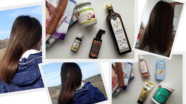 oleje na włosy