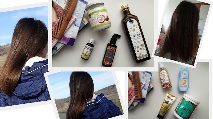 Obecna pielęgnacja włosów + patent na olej kokosowy