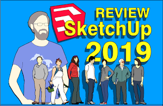 Review SkechUp 2019