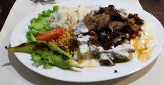 My beef iskander kebab