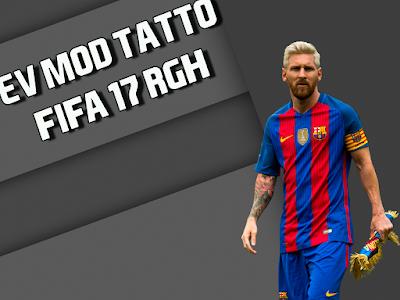 MOD TATUAGENS NOVA GERAÇÃO FIFA 17 XBOX 360 RGH