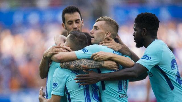 Copa Del Rey: Barcelona Atasi Murcia 3-0