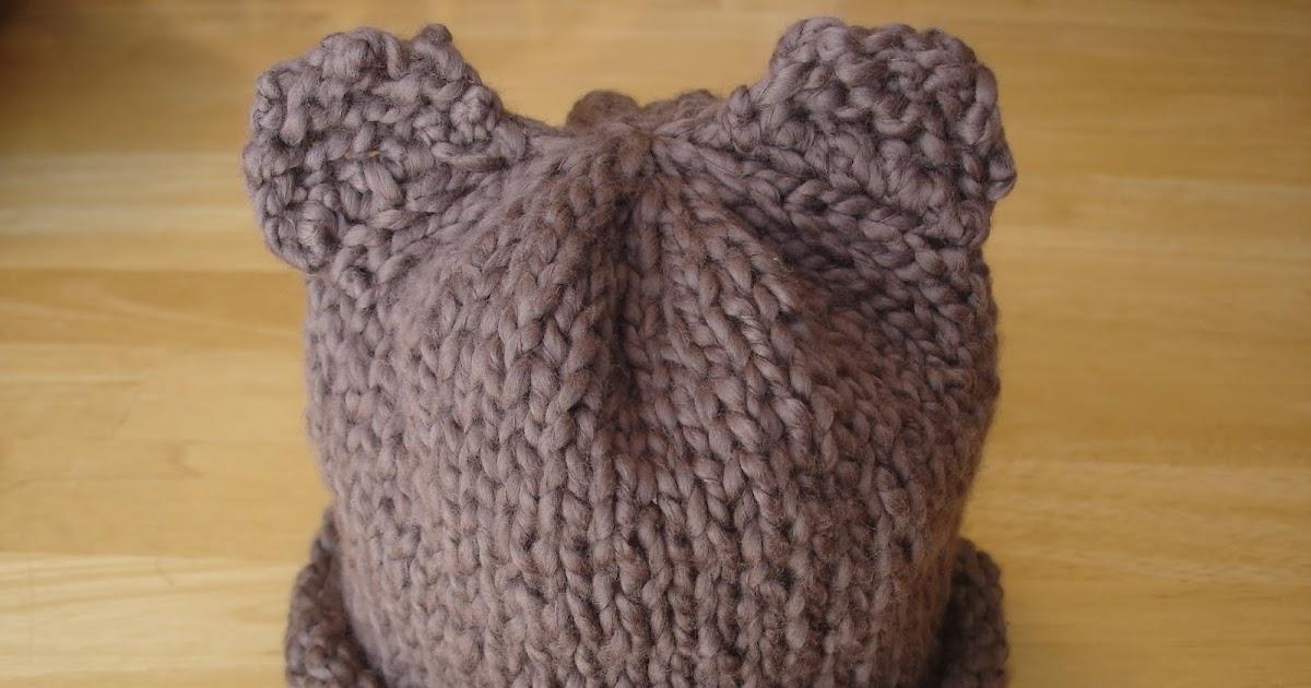 Fiber Flux Free Knitting Patternby Bear Hat For Preemie