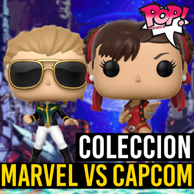 Lista de figuras funko pop de Funko POP Marvel vs Capcom