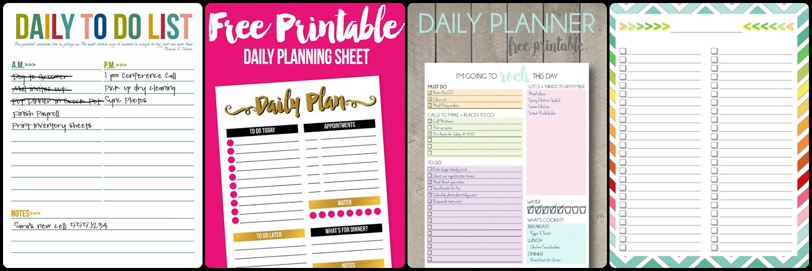 Lisa is Busy Nerding: 10 Free Organizational Printables to