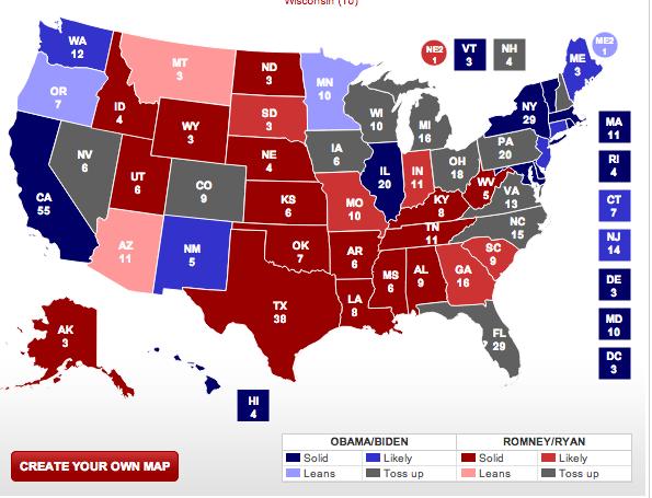 ... Blog de José Rafael Revenga): ELECCIONES USA 2012: EL ÚLTIMO ROUND