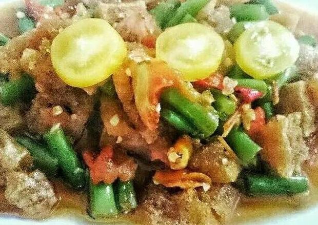 cara masak  Tumis Krecek Buncis segar dan lezat