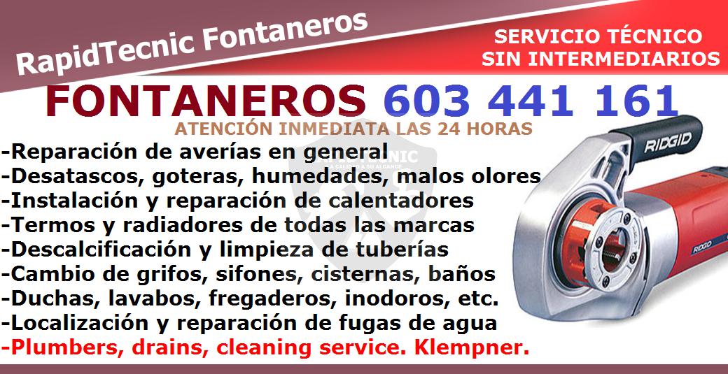 Rapidtecnic fontaneros milagrosa pamplona 603 441 161 - Fontaneros en pamplona ...