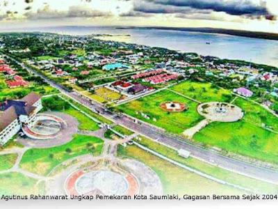 Agutinus Rahanwarat Ungkap Pemekaran Kota Saumlaki, Gagasan Bersama Sejak 2004