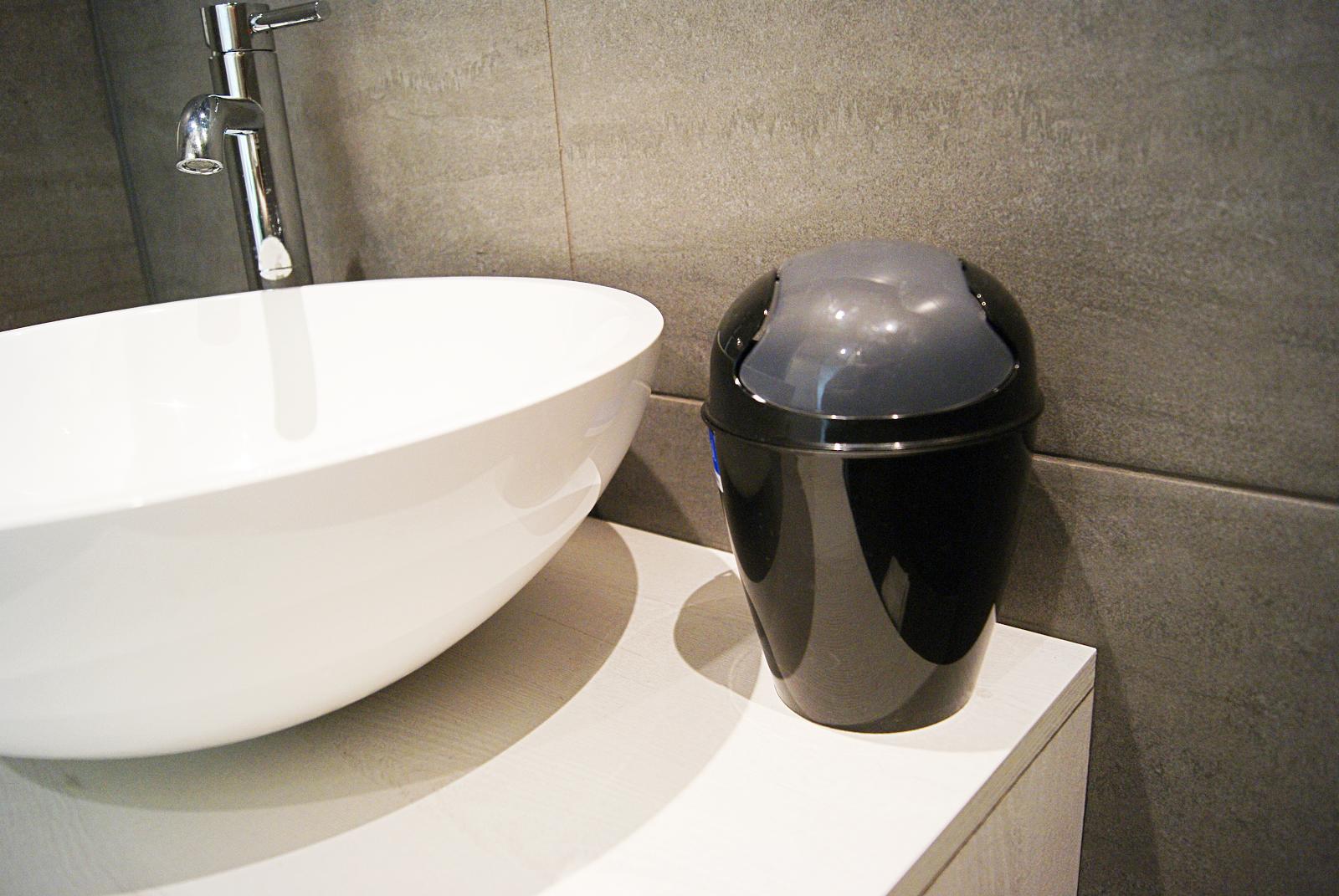 Onze nieuwe badkamer accessoires